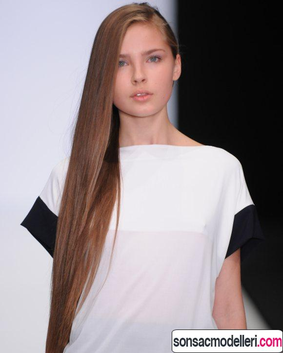 Yandan uzun saç modeli