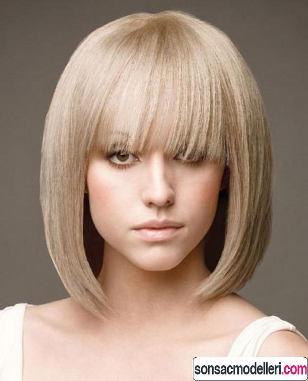 Kahkğllü küt saç modeli