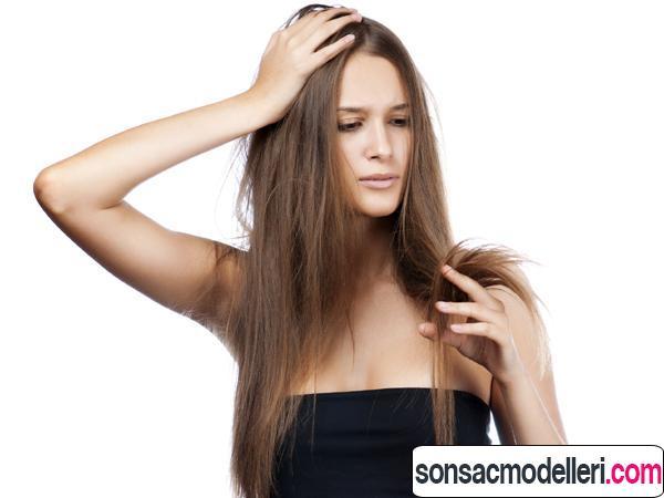 kırık saçlar için bakım