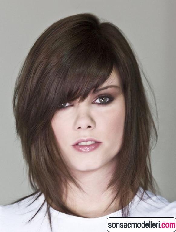 kısa katlı saç modeli ve kısa katlı saç kesimi