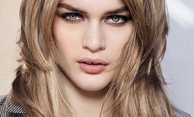 orta boy saç modeli