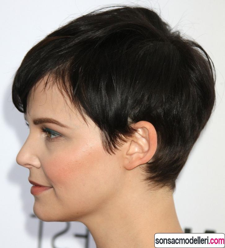 Katlı pixie saç kesimi
