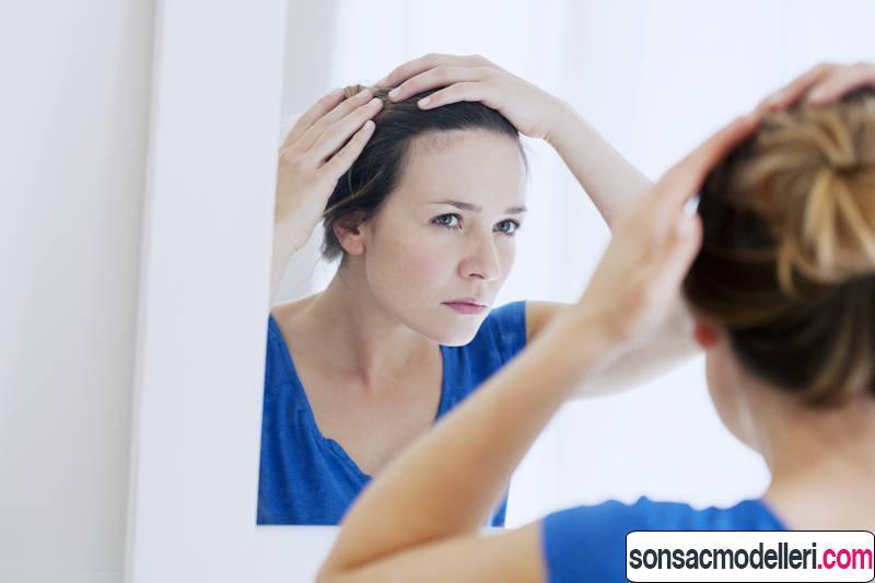 kadınlarda saç dökülmesi için çözüm