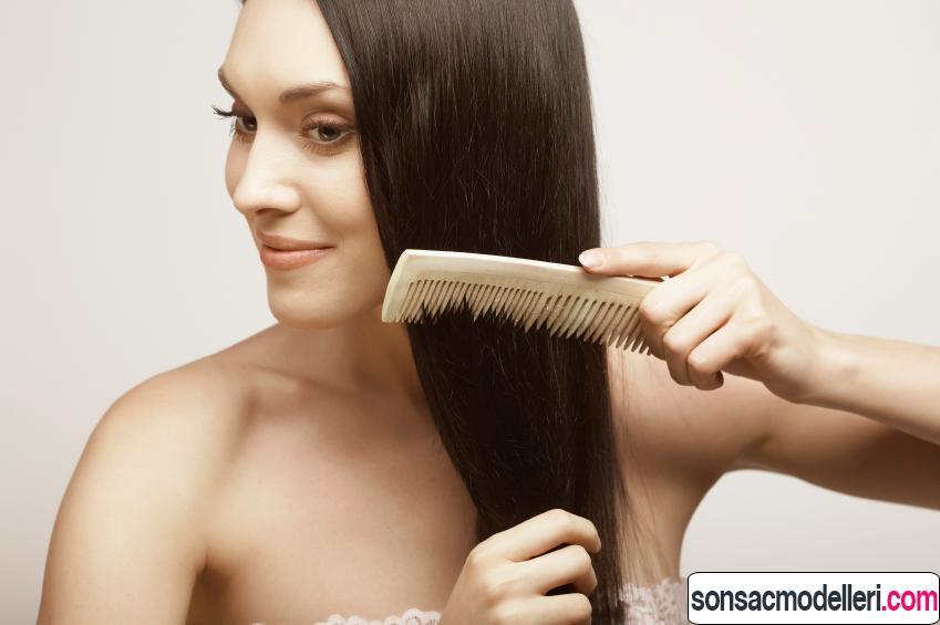 Kemik tarak ile sağlıklı saçlar