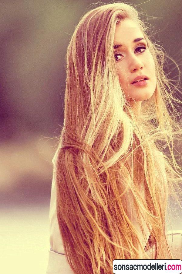 Uzun saç kesimi