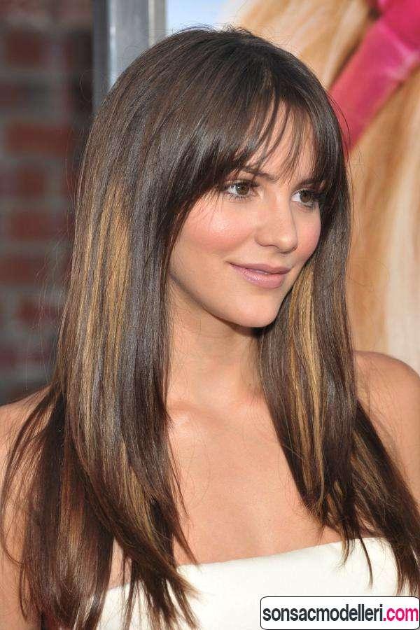 Uzun Yüz Şekli İçin Saç Modelleri