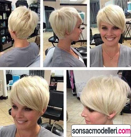 kısa pixie saç