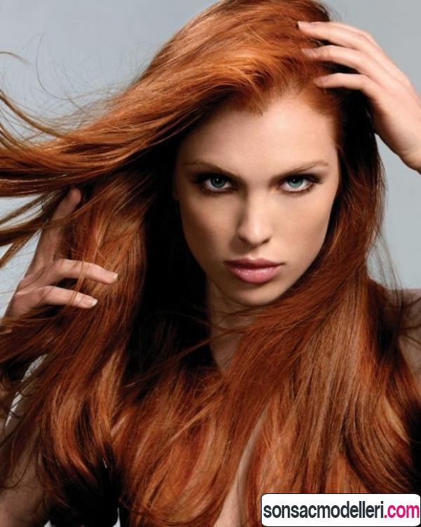 tarçın saç renkleri ve tonları