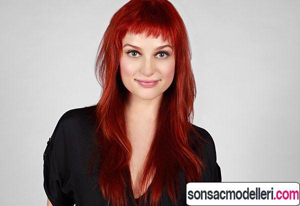 kızıl saç renk tonları