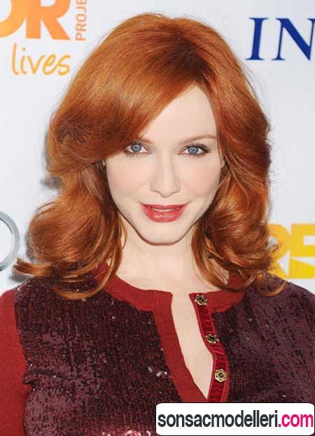 kızıl saç rengi