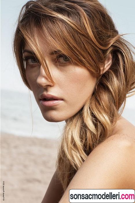 2016 balyajlı saç modeli