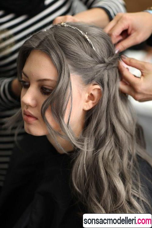 gri saç renk tonları