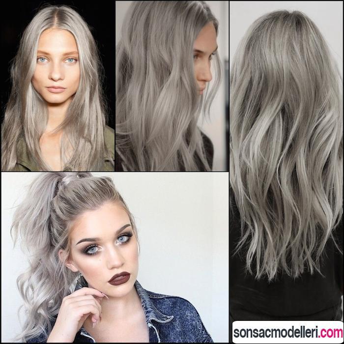 gri saç renkleri