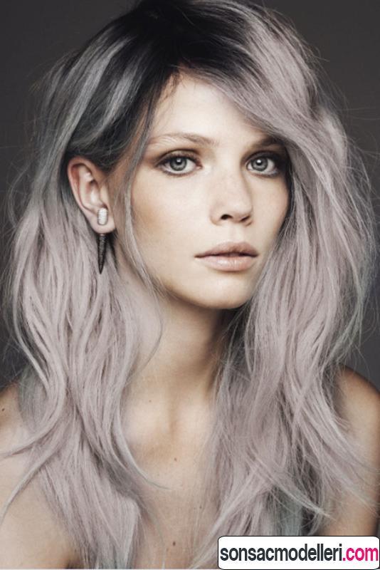 gri saç rengi