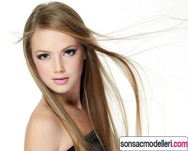 Uzun ince saç modelleri