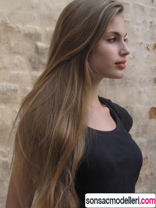 Küllü sarı saç tonları