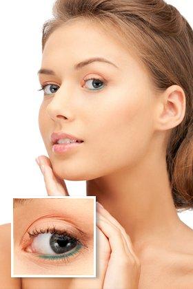 renkli eyeliner