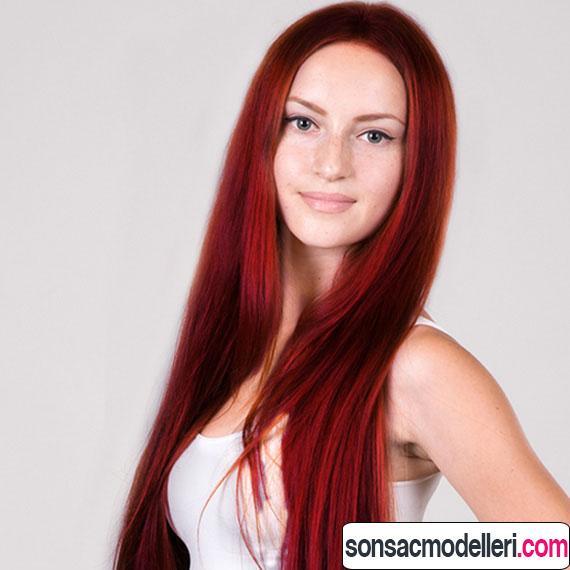 şarap kızılı saç tonları
