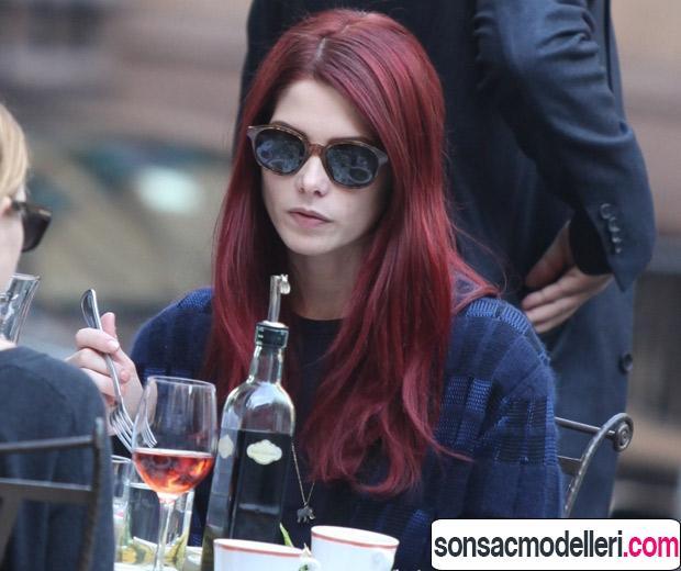 şarap kızılı saç rengi