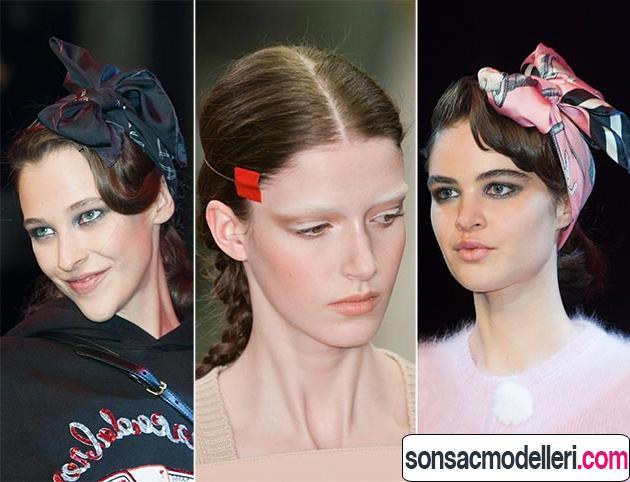 Saç modelleri için aksesuar önerileri