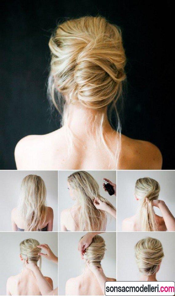 Tarz saç modeli yapımı