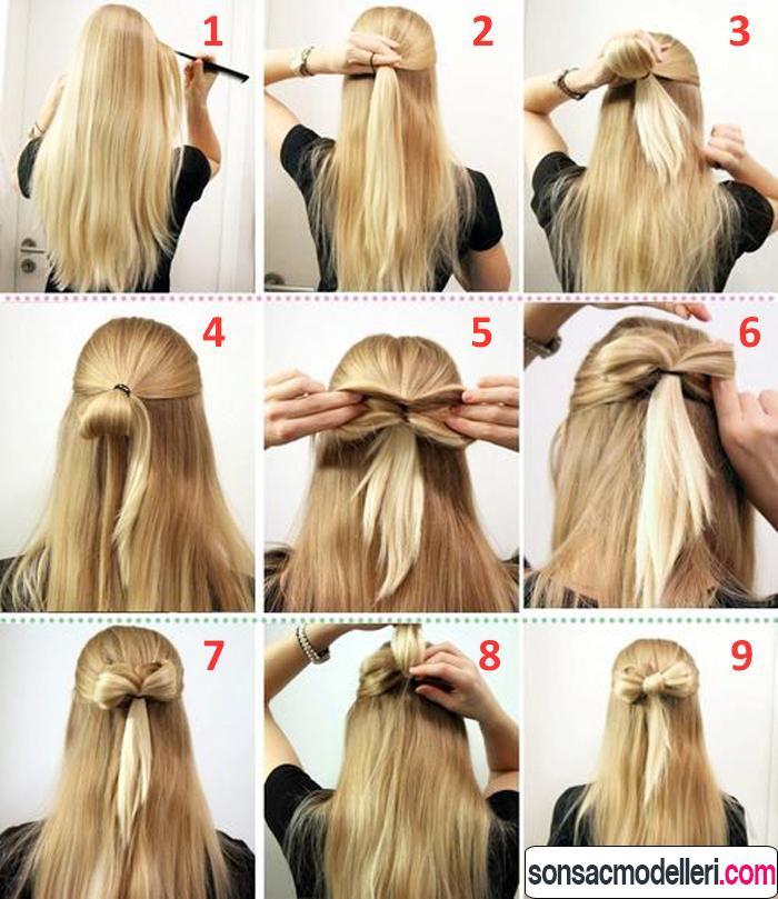 kurdela saç modeli yapılışı