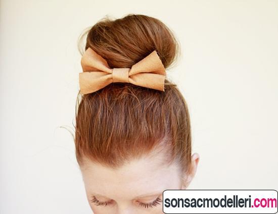 pratik ve kolay saç toplama modelleri