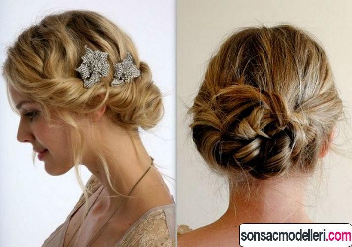 Mother Of The Bride Hats For Short Hair: Pratik Saç Toplama Modelleri