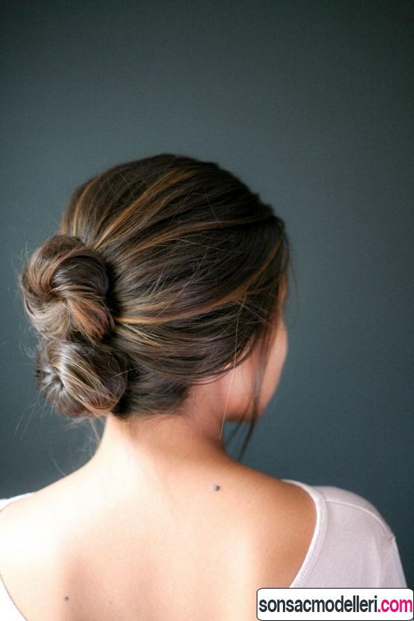 kolay saç toplama şekilleri