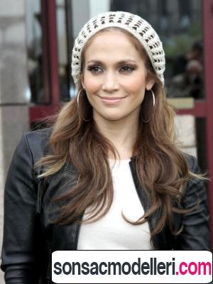Jennifer Lopez Bere saç modeli