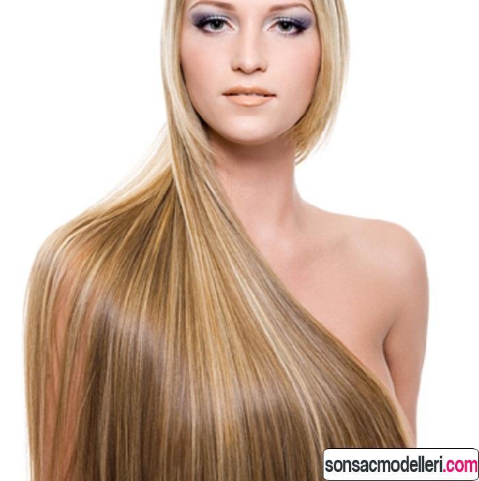 saç uzatmak için bakım