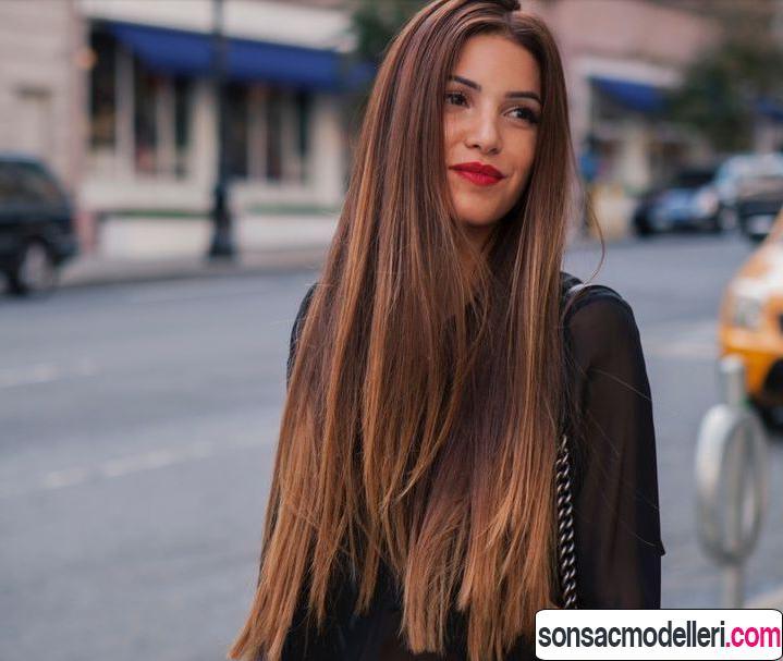ışıltılı saç modelleri
