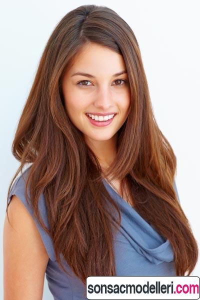 uzun katlı saç örneği