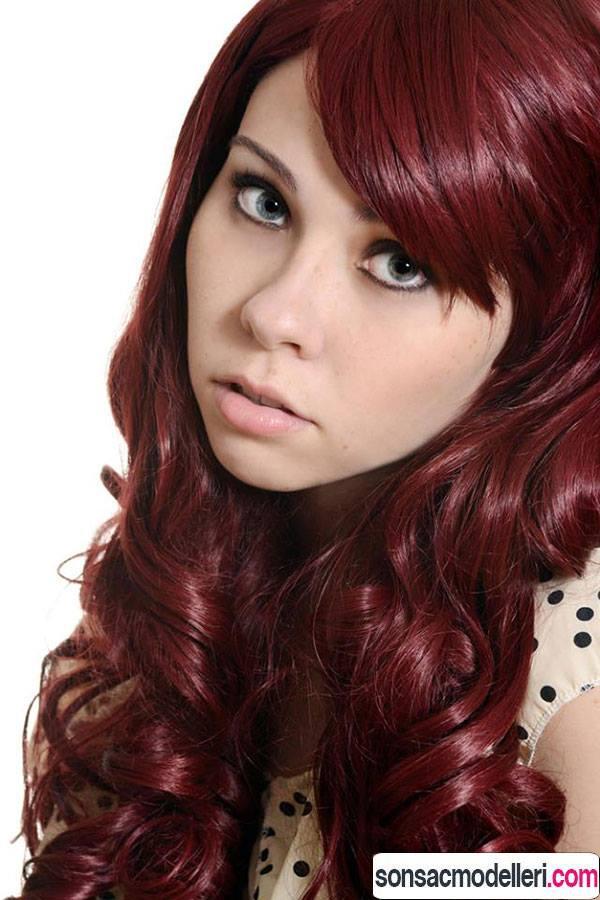 Caberne Şarap Kızıl Saç Rengi