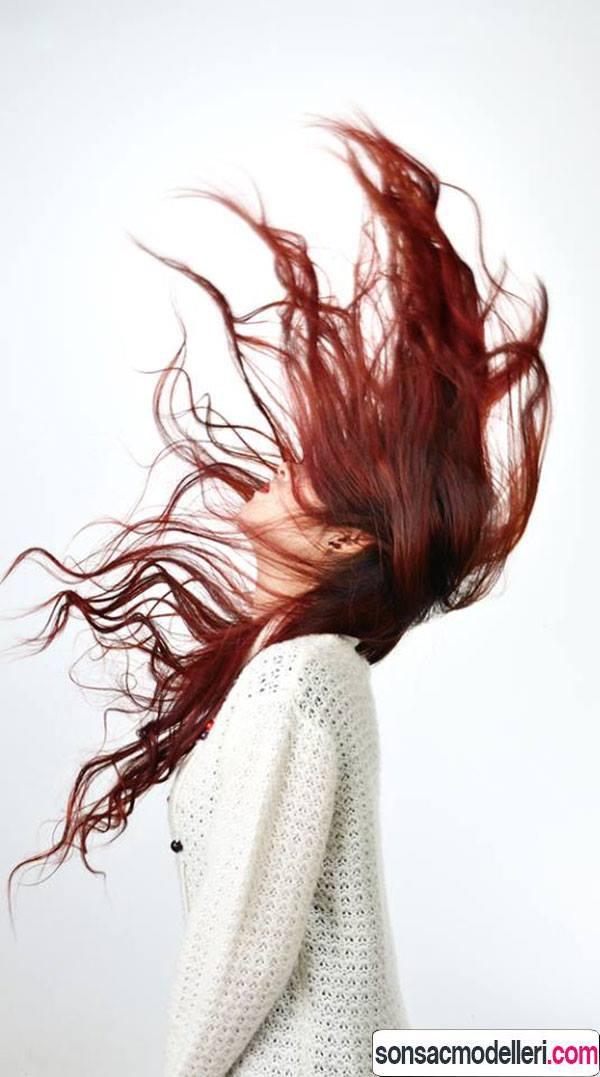 Kızılcık saç Rengi