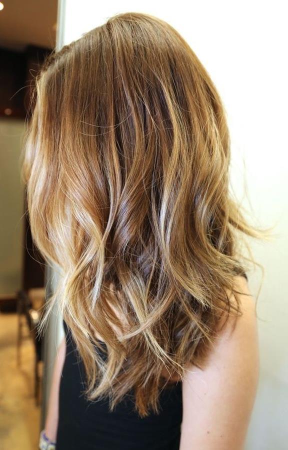 ombre saç modeli örneği