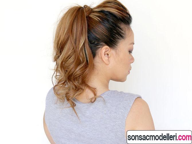 atkuyruğu saç modeli