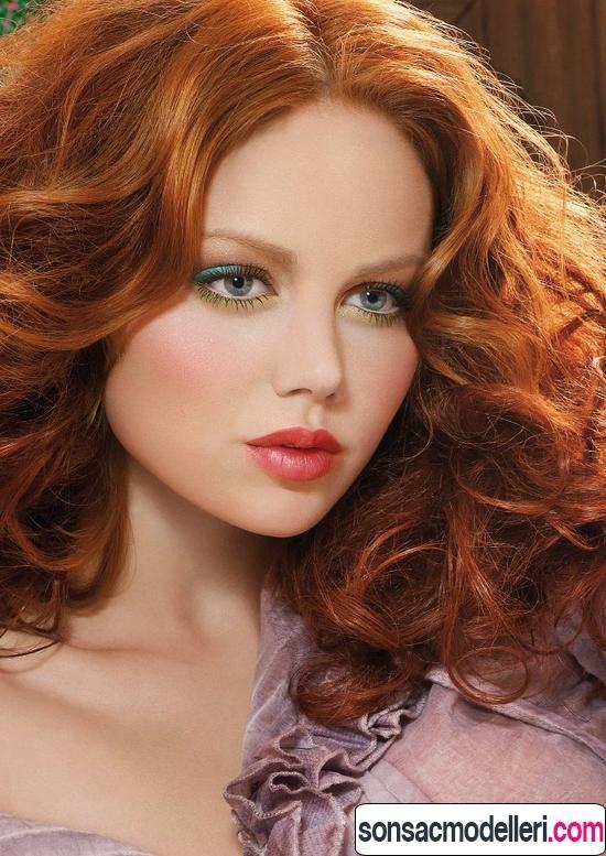 bakır saç modeli