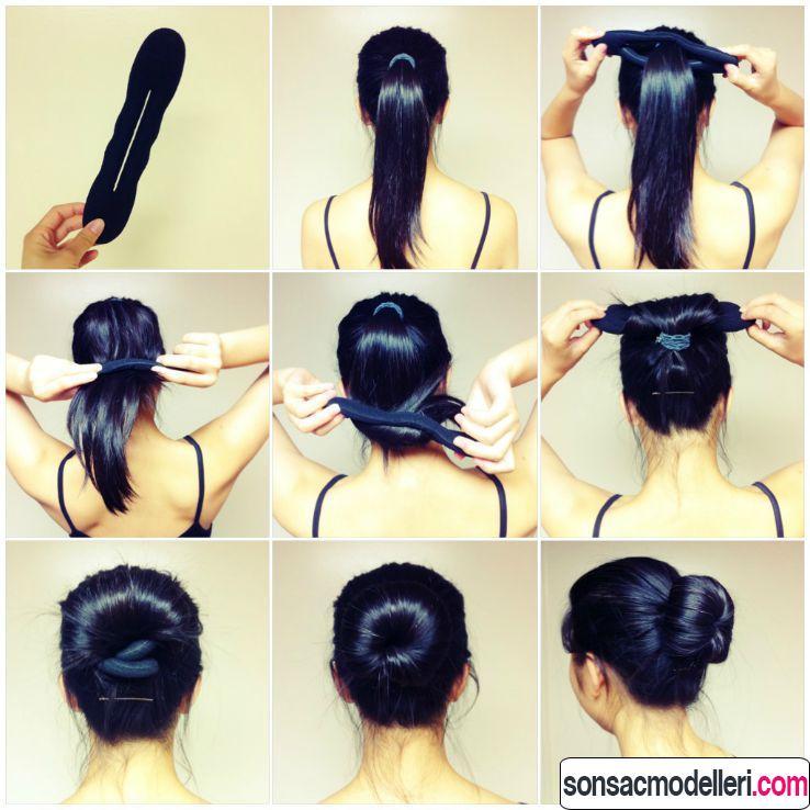okul saçı yapılışı