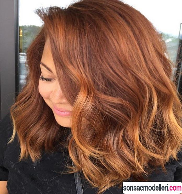 bal kabağı saç rengi