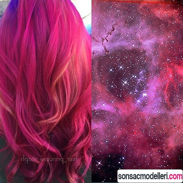 galaksi saç renk önerisi