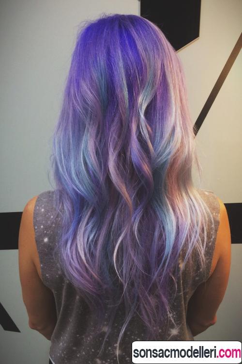 galaxy saç renkleri