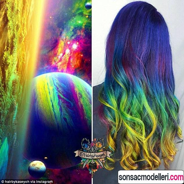 galaksi saç modaları