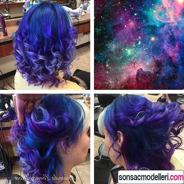 renkli galaksi saç renkleri
