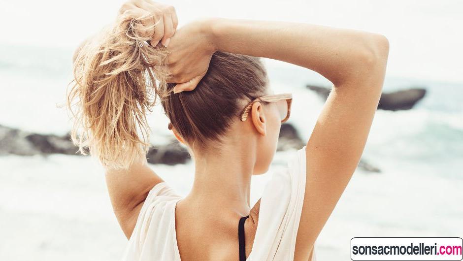 yazın saç rengini korumak için