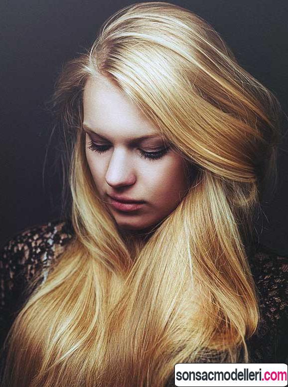 altın sarısı saç