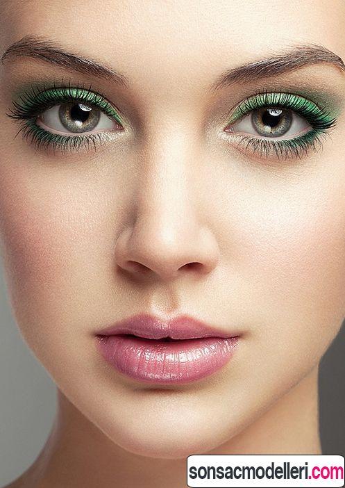 ela göze yeşil göz farı