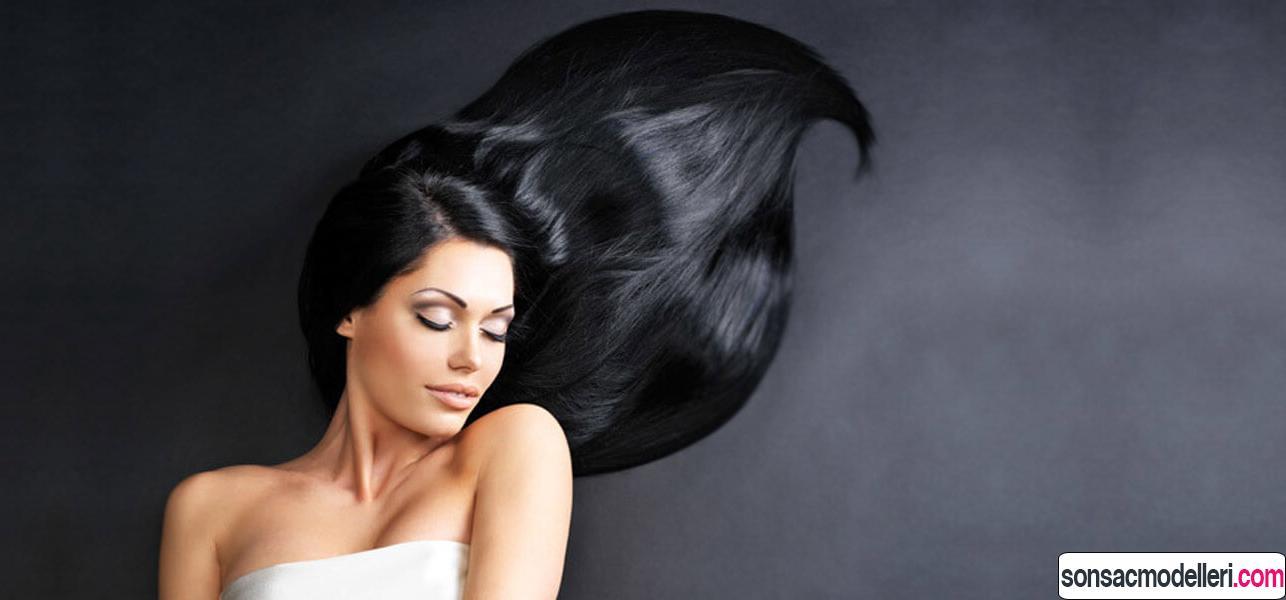 saçları parlak göstermek