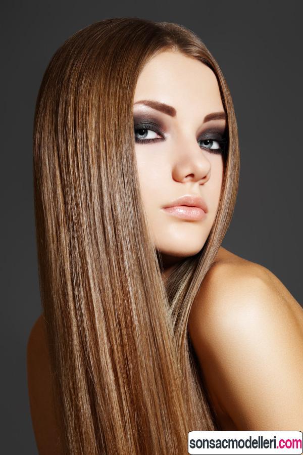saçları canlı göstermek için