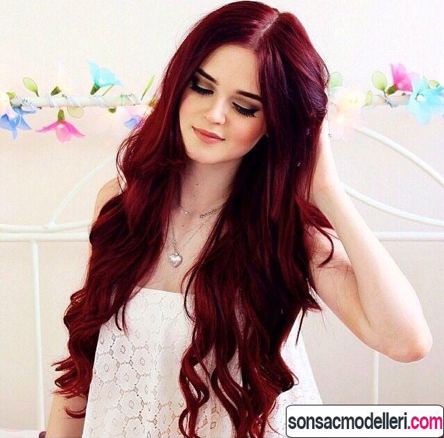 şarap kırmızısı saç rengi